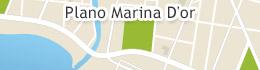 Mappa di Marina d'Or